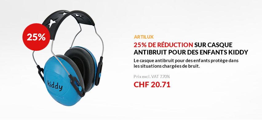 Casque antibruit Kiddy