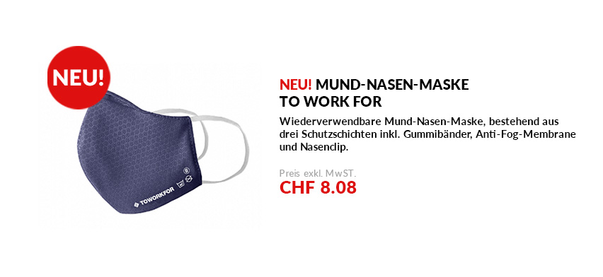 Mund-Nasen-Maske to work for