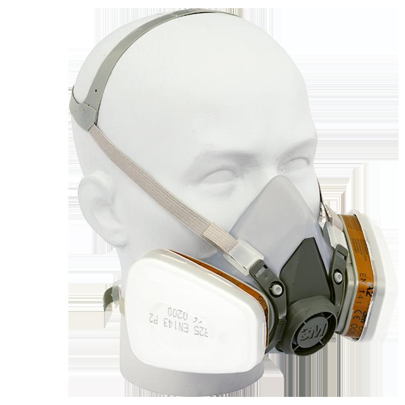 demi masque 3m 6000