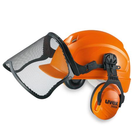 446c9a4206220 uvex visière de protection METAL pour Kit forestier - UVEX - Safety-Pro