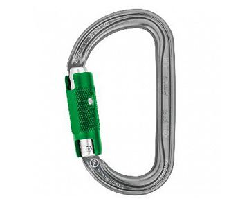 Aluminiumkarabiner Am'D PIN-LOCK