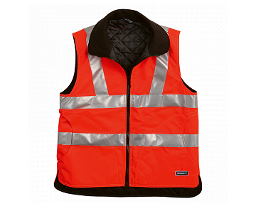 Gilet de sécurité rouge vif SECURITY 12892
