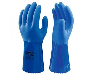 Gants de protection anti-coupures Showa  KV 660 EN 388 (4341) EN 374-2 374-3