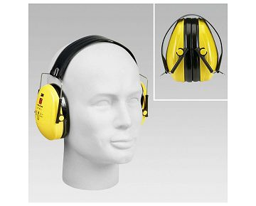 Casque anti-bruit pliable 3M OPTIME I F  27 dB