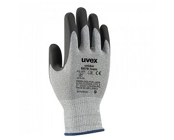 Gant de protection contre les coupures uvex unidur 6679 foam