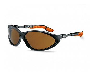 Repassage , noir, orange , brun lentille PC UV 2-1.2